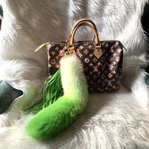 Louis Vuitton Fox Tail Fur Tassels